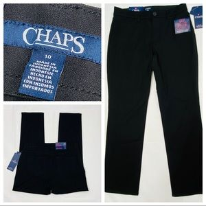 Chaps Jeans Slimming Fit Stretch Cropped Pants 10